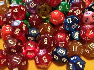 twelve sided dice